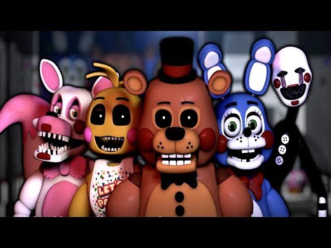 NEW Five Nights at Freddy's: Remastered || TOY ANIMATRONICS!!! #1