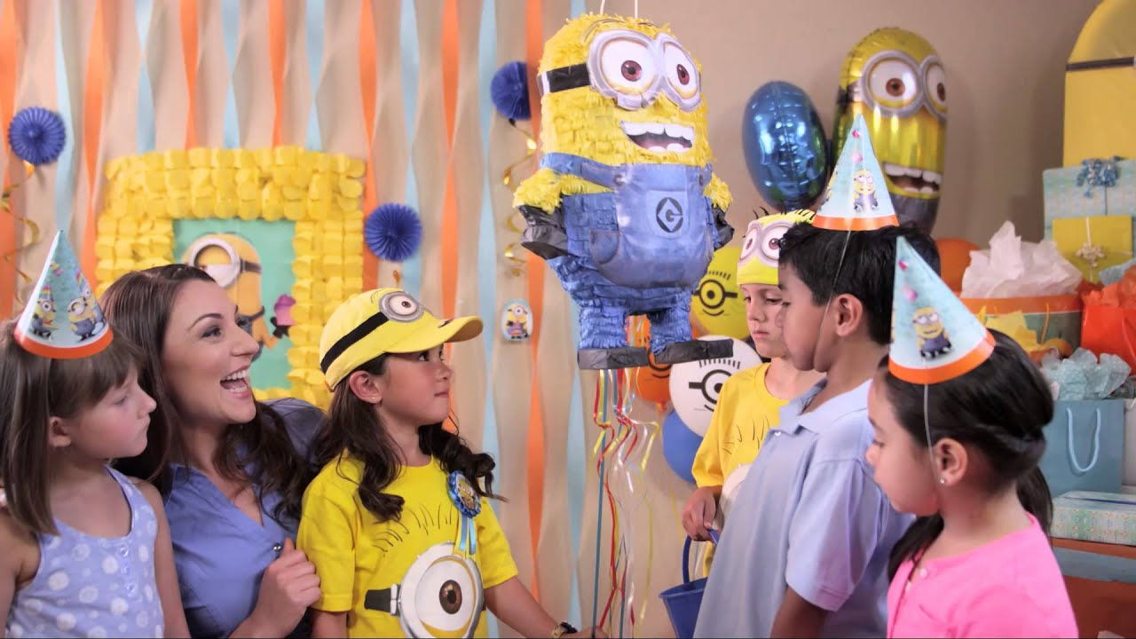 Despicable Me Birthday Party Ideas YouTube