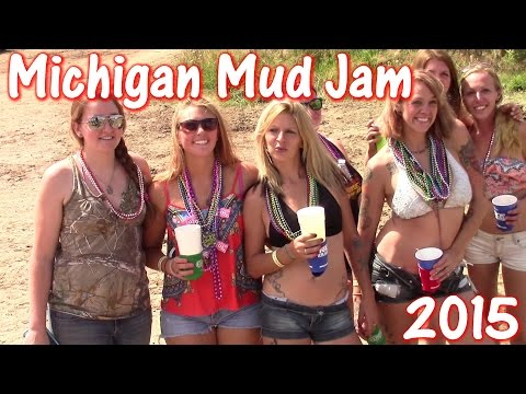 Michigan Mud Jam TGW General Action And Spectator Fun 2015