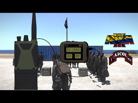 Arma3 Colombia - Curso comunicación por radio (Task Force Radio)