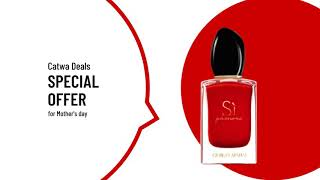 Perfumes for mother's day - offers on Catwa Deals