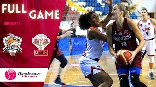 Gelecek Koleji Cukurova v Reyer Venezia - Full Game -  EuroLeague Women 2019-20