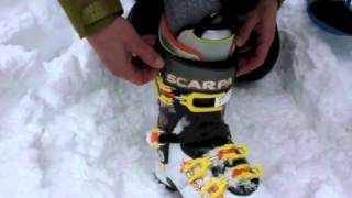 Scarpa Maestrale RS Alpine Touring Boots