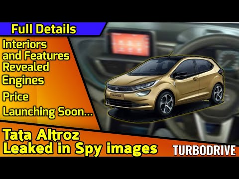 TATA Altroz leaked in Spy Images | Engines, launch Date, Features | Full details