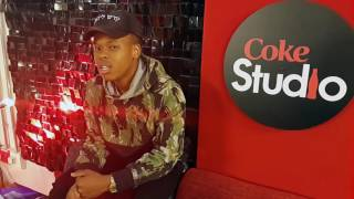 Nasty C lets us in the Coke Studio