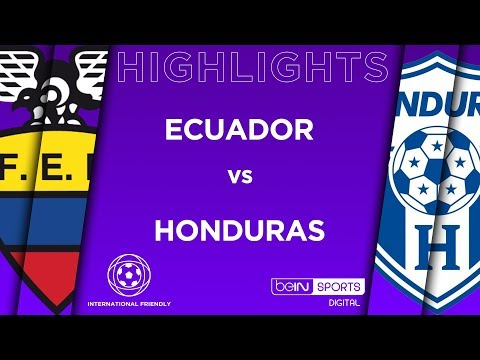 HIGHLIGHTS: Ecuador Vs Honduras