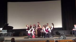 """Фрагменты из оперы В.А.Моцарта """"Свадьба Фигаро"""" Выступление в Доме Кино"""