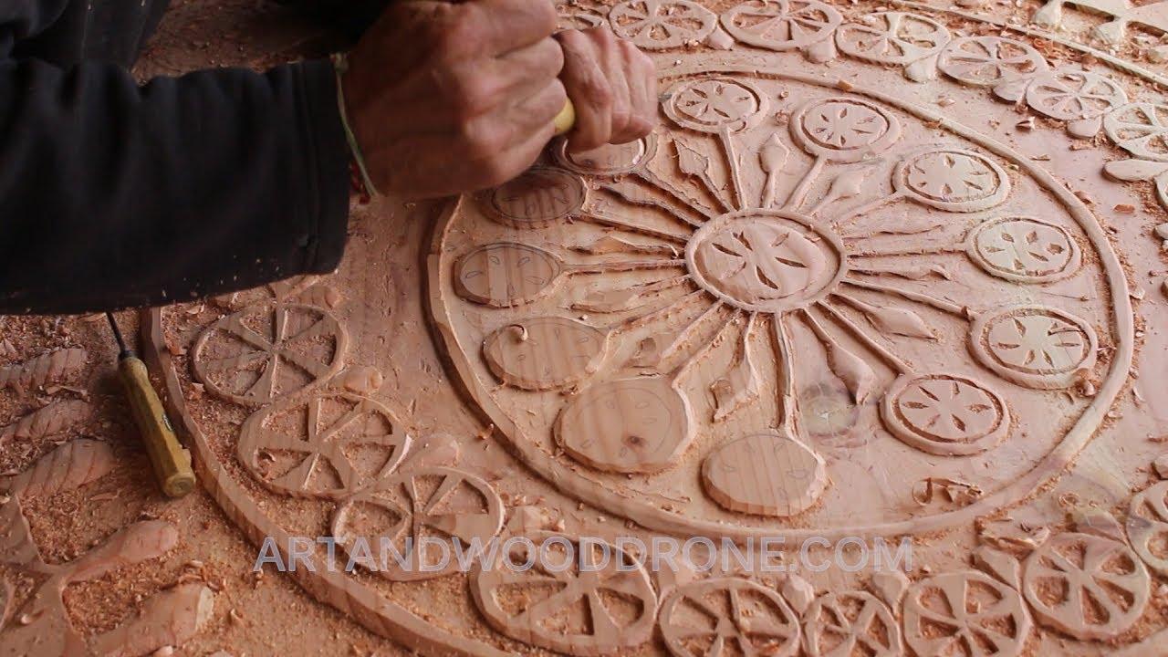tallando madera Carving MANDALA Mamakilla Tallando Madera Paso A Paso De Douglas