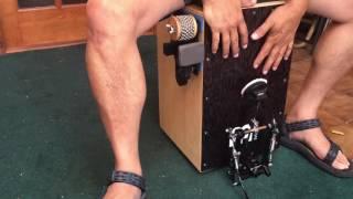 Cajon-Eez's Cajon Jingle Accessory - Cajon Hi-Hat Gadget Demo thumbnail