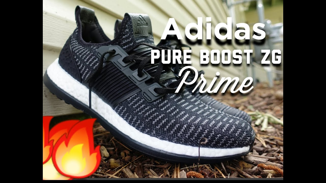 outlet store ce917 cb47d Adidas Pure Boost ZG Prime On Foot Reveiw - YouTube