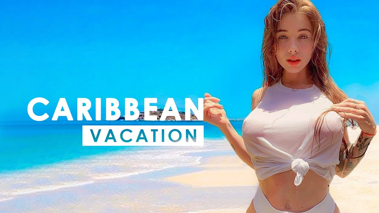 VACATION IN CARIBBEAN | Scenic Film Caribbean & Deep House Sessions Chill Out Mix By BLUESKY