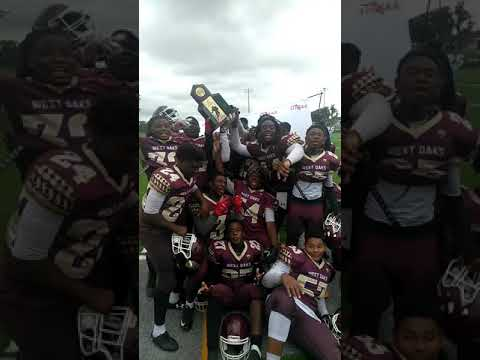 West Oaks Academy Football Back 2 Back FIHSAA State Champions