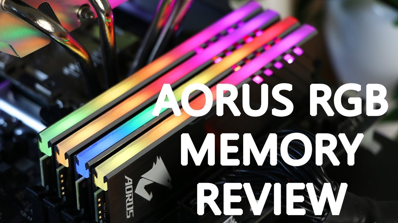EN) Gigabyte Aorus RGB Memory review | Techtesters