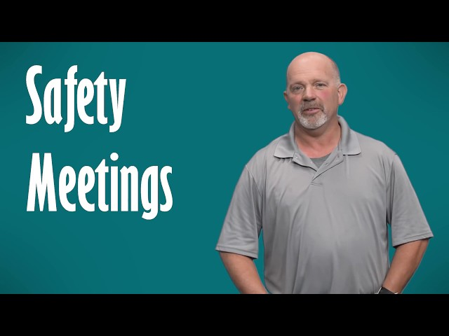 Safety Meeting Topics (And How to Hold a Safety Meeting)