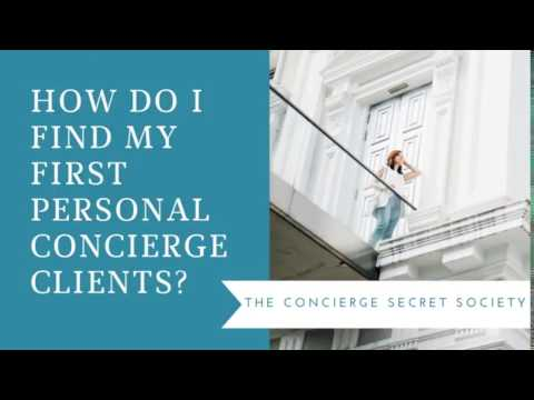 Personal Concierge Training - The Concierge Society - The Concierge Secret Society