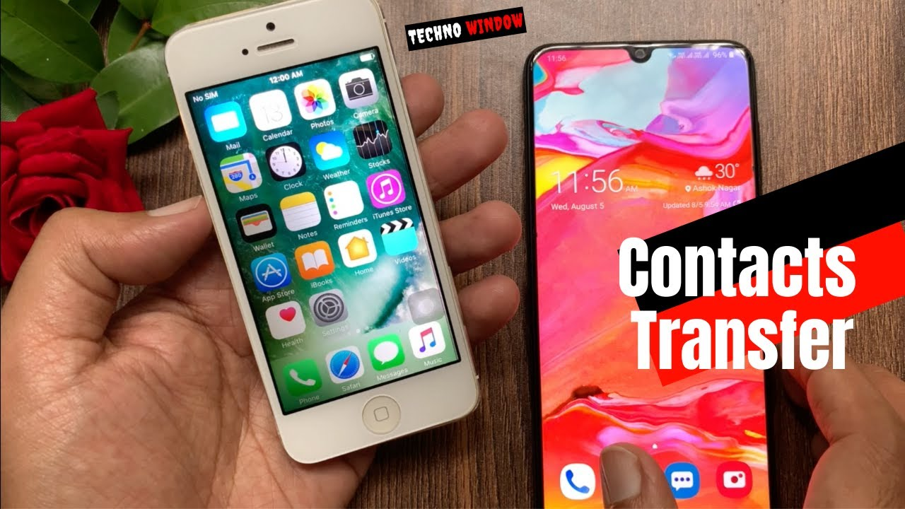 """The Best Way To Transfer Contacts From iPhone to Android! """"#Wondershare MobileTrans"""""""
