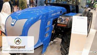 Tutte le novità BCS a EIMA 2018 - focus trattore isodiametrico Vithar L80N