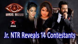 Bigg Boss Telugu 14 Participants Names Revealed || Details & Profession || Jr.NTR || Star Maa 😀😀😀
