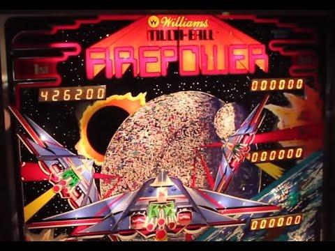 williams firepower pinball machine