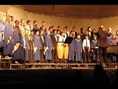 Magruder Chamber Choir and Joint Choirs December 2013 Concert