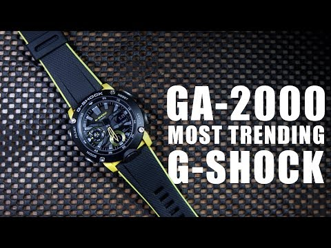 MOST TRENDING G-SHOCK | CASIO GA-2000-1A9 - SPEC & UNBOXING