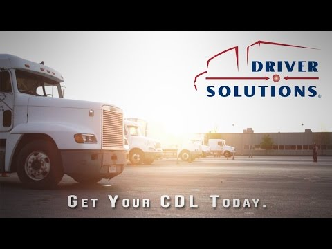 Driver Solutions - Sponsored CDL Training & Truck Driving Jobs