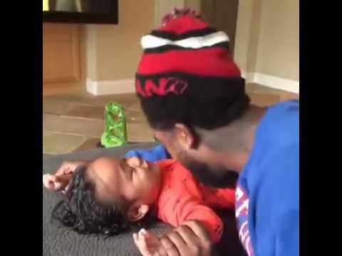 Omarion And His Son:Megaa Omari Grandberry😄💙