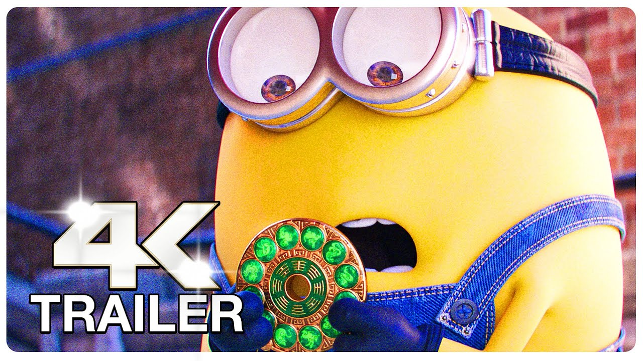 Download MINIONS 2 THE RISE OF GRU Trailer (4K ULTRA HD) NEW 2022