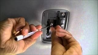 Replacing Honda Civic Interior Light (Dome Light) 2006 - 2011