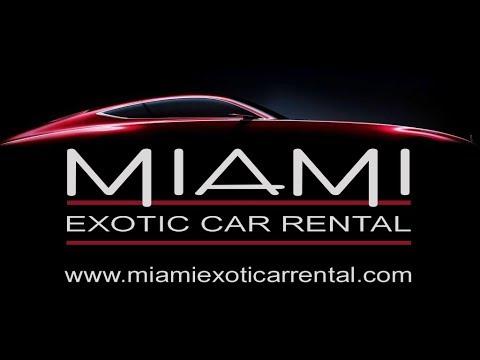 Miami Exotic Car Rental Finest Dream Car Selection