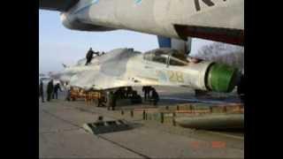 Перевозка СУ-27 на АН-22 в/ч 62231-4 п Угловое