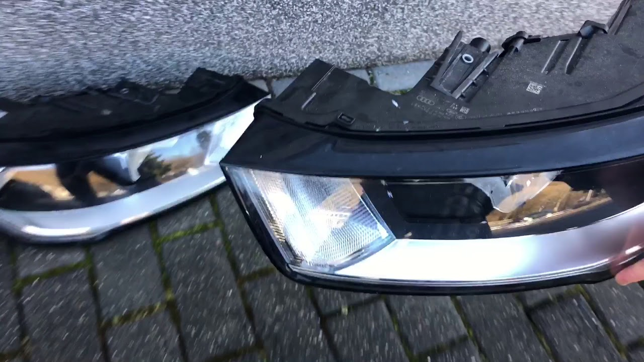 How To Replace Your Car Front Headlights Audi A1 S1 Sportback Diy