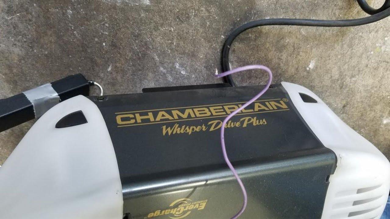 Chamberlain Whisper Drive Plus 34 HP Garage door opener
