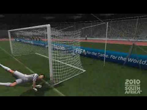 FIFA World Cup 2010 - Mark Bresciano Free Kick