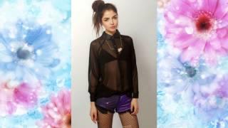 видео Прозрачные блузки - с чем носить? Варианты с фото