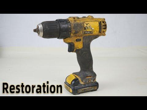 Lithium Drill Restoration DEWALT DCD 710 12-Volt Drill Restore