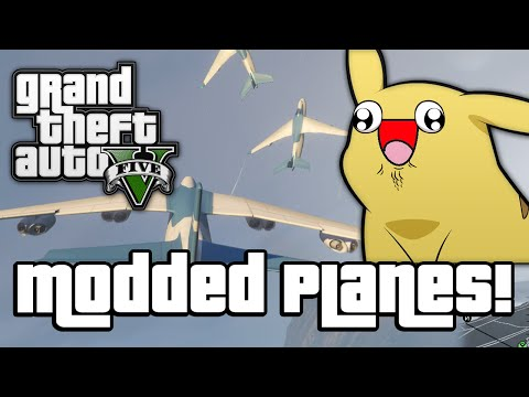 GTA V: MODDED PLANES! (GTA 5 Next Gen...