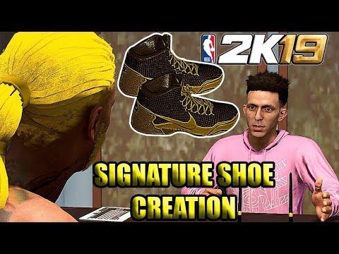 NIKE SIGNATURE SHOE CREATION NBA 2K19