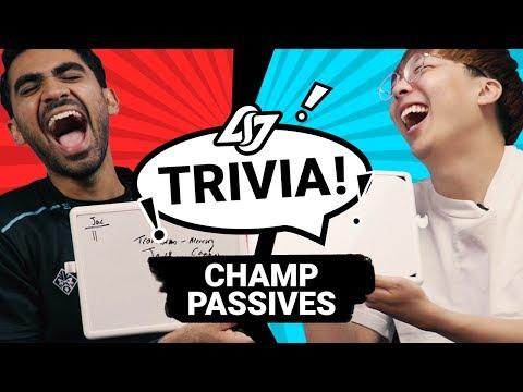 GUESS THAT LOL CHAMP PASSIVE #1 | CLG TRIVIA