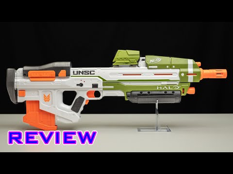 [REVIEW] Nerf Halo MA40 Assault Rifle | Solid Prop-Class Blaster!