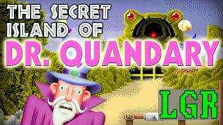 LGR - Secret Island of Dr. Quandary - PC Game Review