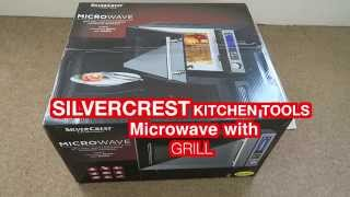 SILVERCREST KITCHEN TOOLS Microwave with Grill FROM LIDL