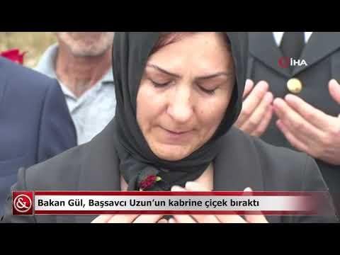 Bakan Gül'den şehit Başsavcı Uzun'a vefa | Samsun ve Haber
