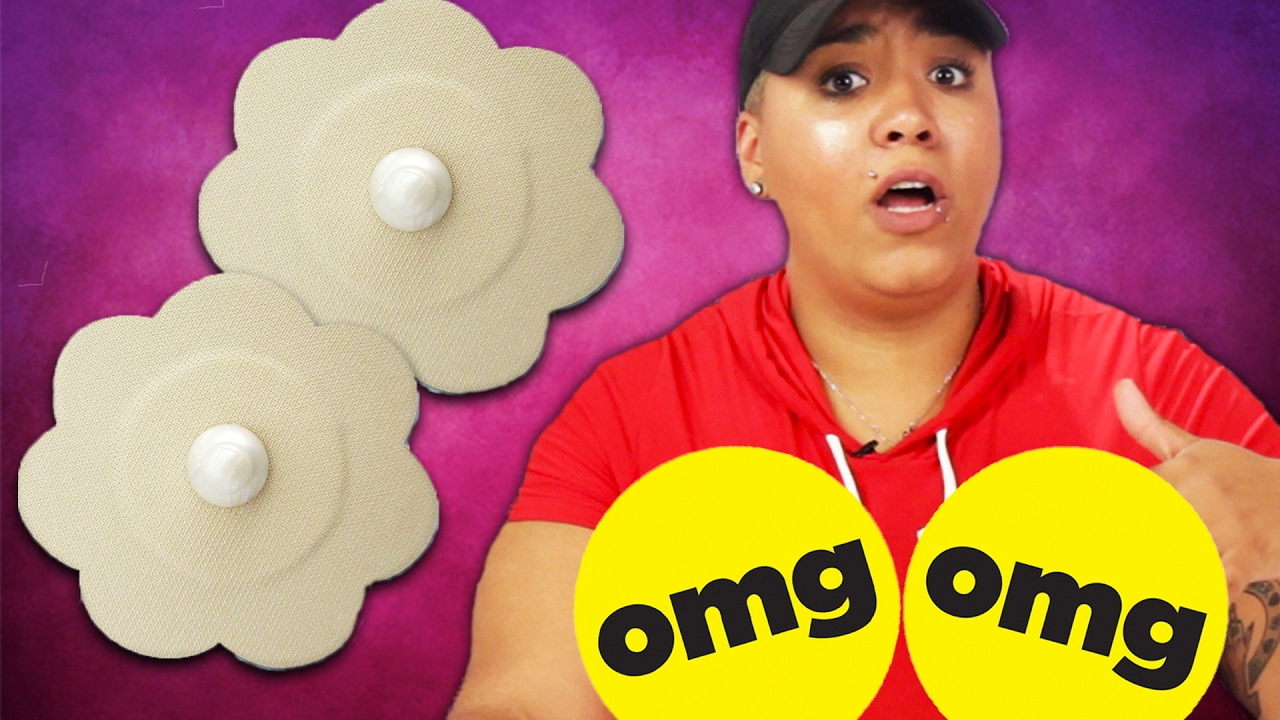 Women Wear Fake Nipples For A Day Youtube