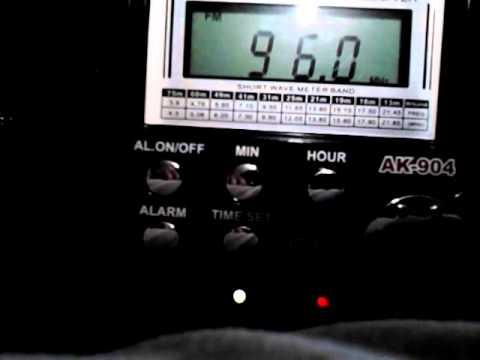 FM Radio Band Scan 2013 05 22 Mexico City