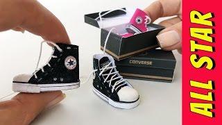 Como fazer um Tênis All Star para Barbie e outras Bonecas