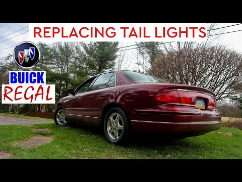 HOW TO REPLACE A TAIL LIGHT ON A 1998 BUICK REGAL!