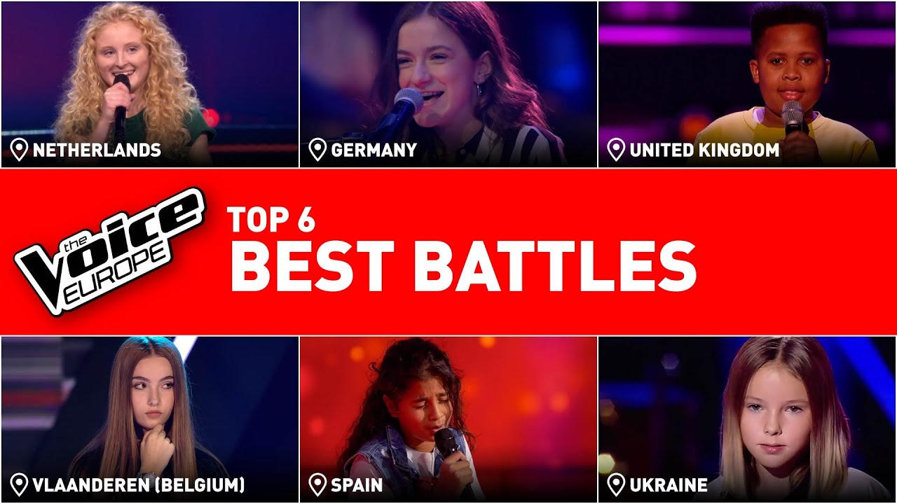 The best battles in The Voice Kids | TOP 6