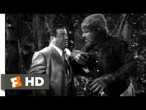 Bud Abbott and Lou Costello Meet Frankenstein (8/11) Movie CLIP - Take the Mask Off (1948) HD