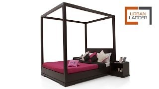 Georgia Four-poster Bed @ Urbanladder.com